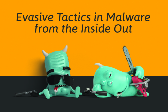 Evasive Tactics in Malware from the Inside Out